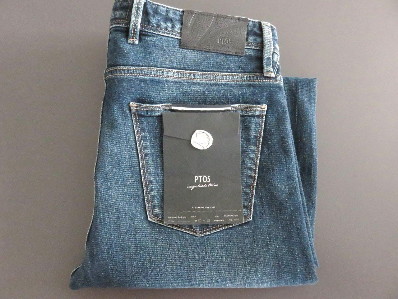 PT01 Pantaloni Torino - PT05 - Mod. Denim Stretch bluejeans