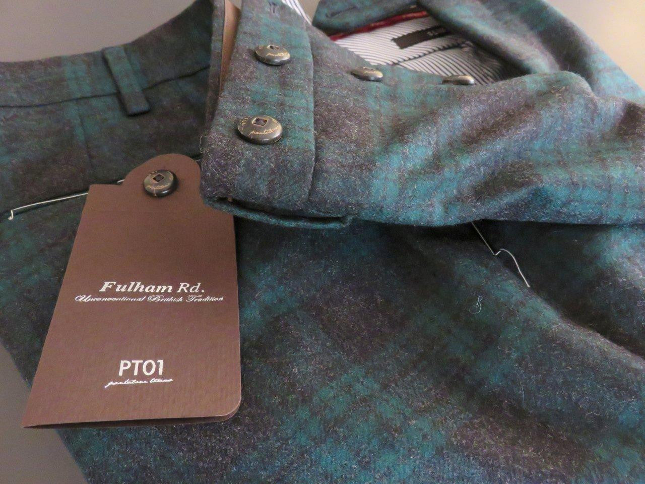 PT01 Pantaloni Torino - Model Fulham Rd. - 100% luxury wool winter (in various colours)
