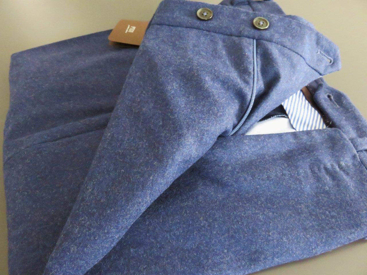 PT01 Pantaloni Torino - Business Wool Luxury