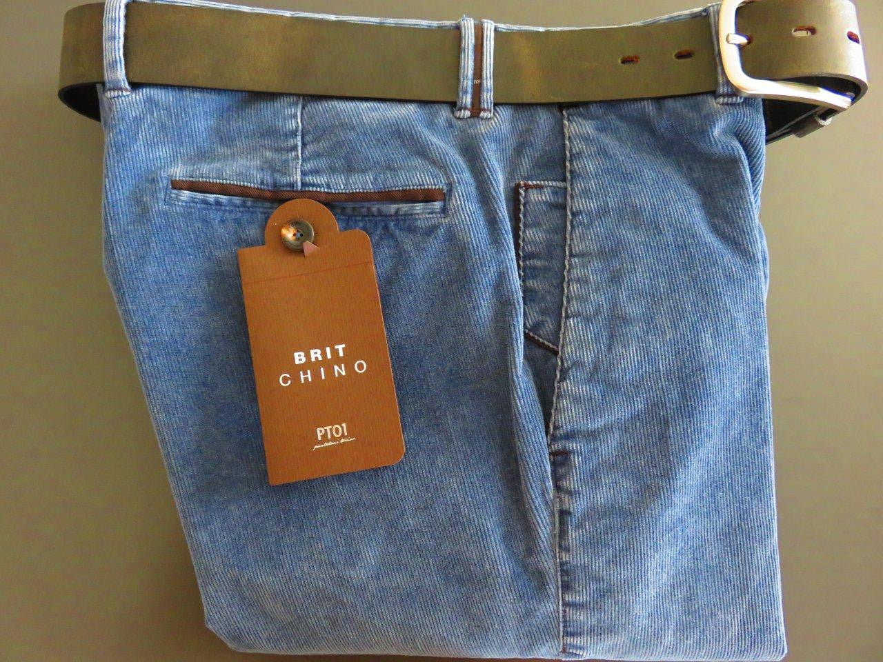PT01 Pantaloni Torino - Brit Chino with belt
