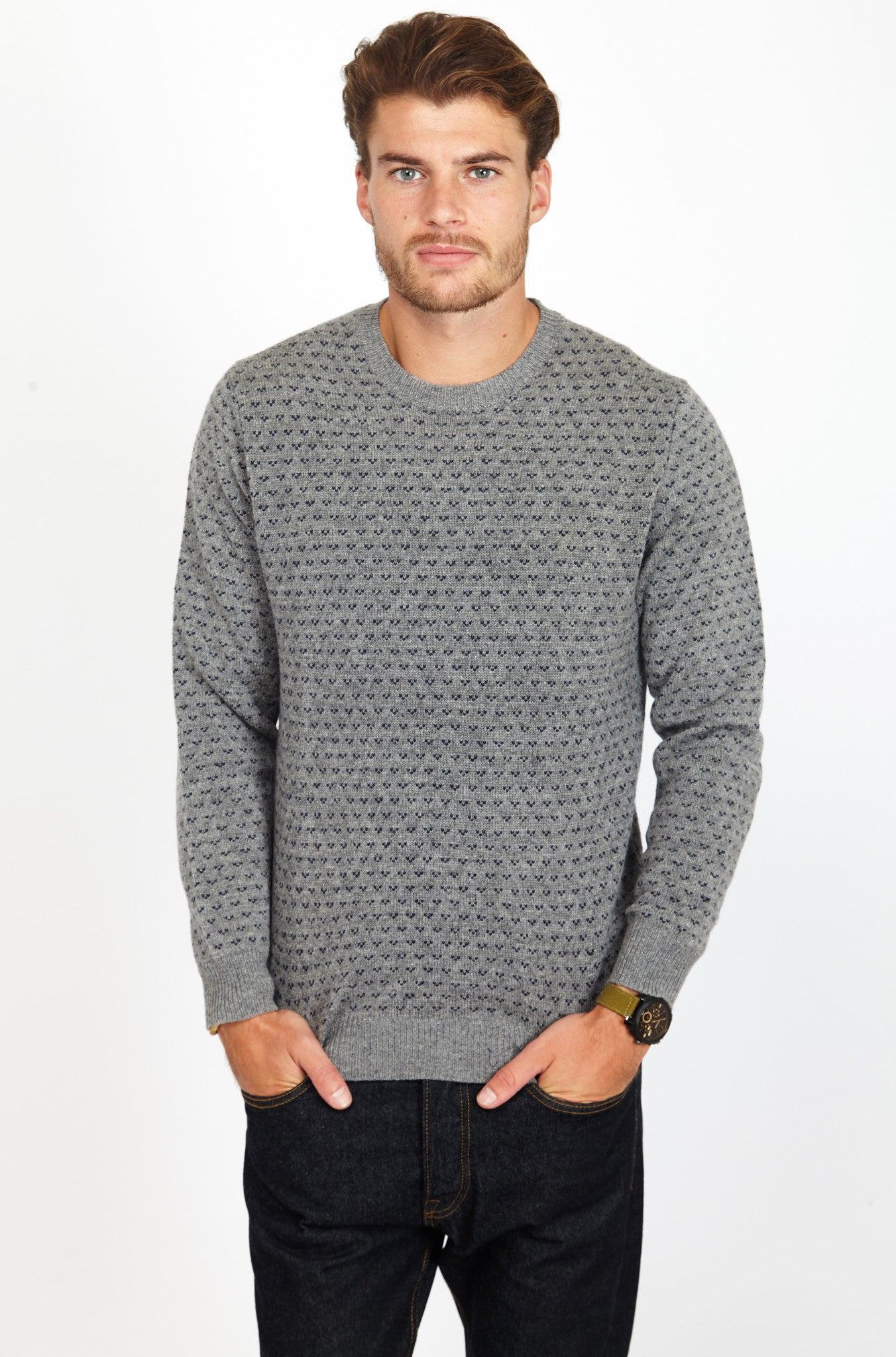 JS 100% wool round neck