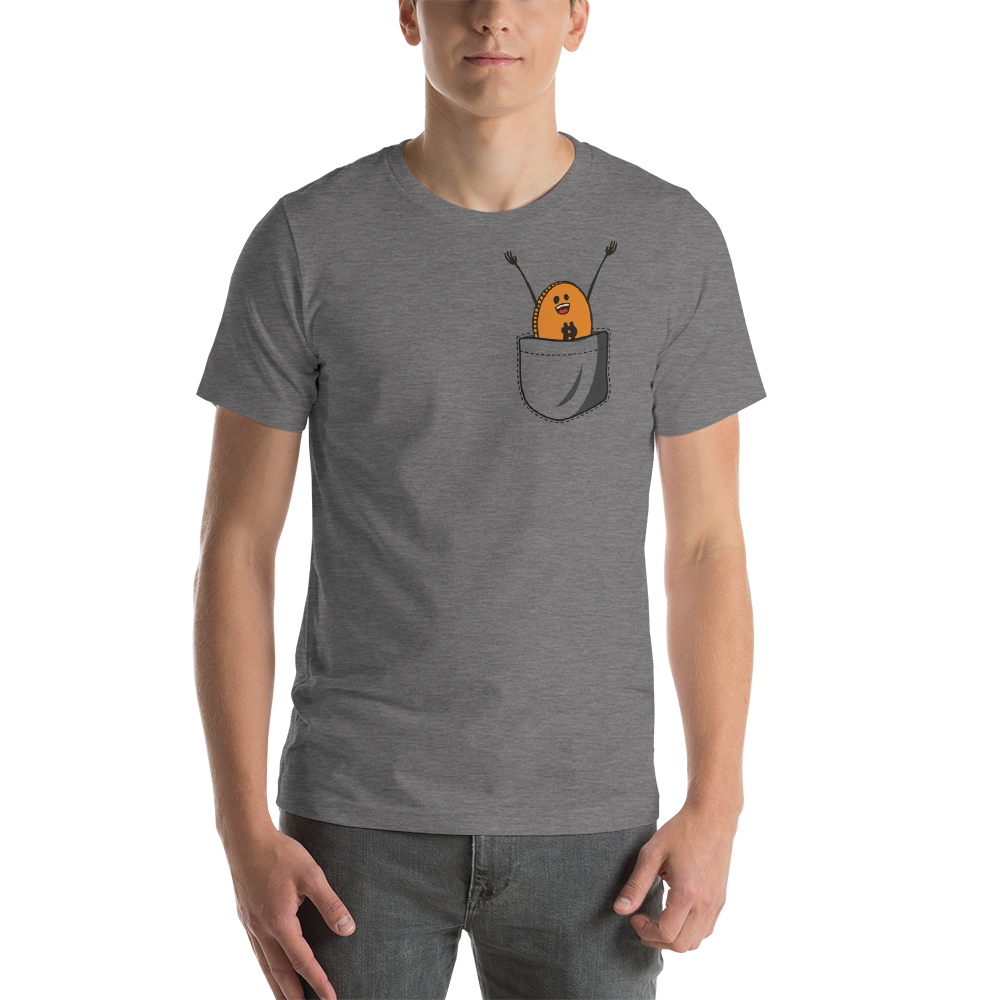 Bitcoin Pocket T-Shirt