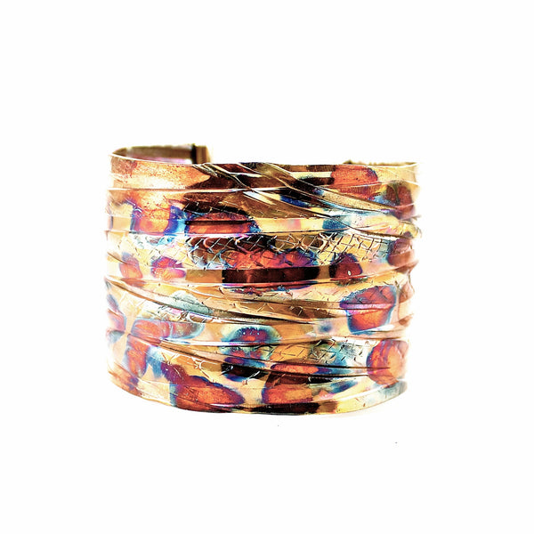 "Fire Dragon ""Amur Leo"" Cuff"
