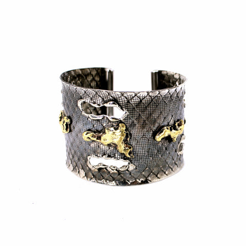 "Metamorphosis ""Golden Nuggets"" Cuff"