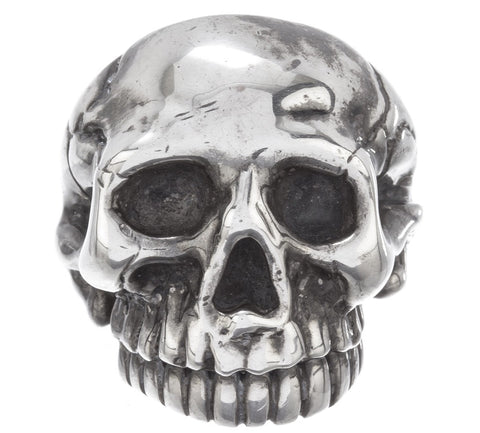 """Harley"" Ladies Scull Ring"