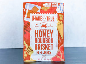 Honey Bourbon Brisket Beef Jerky