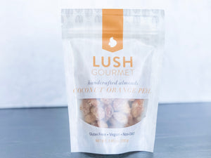 Lush Nuts Coconut Orange Peel Almonds
