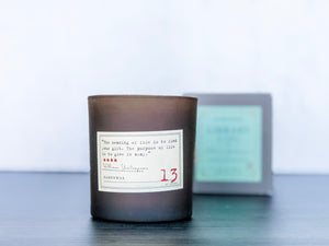 Shakespeare Candle
