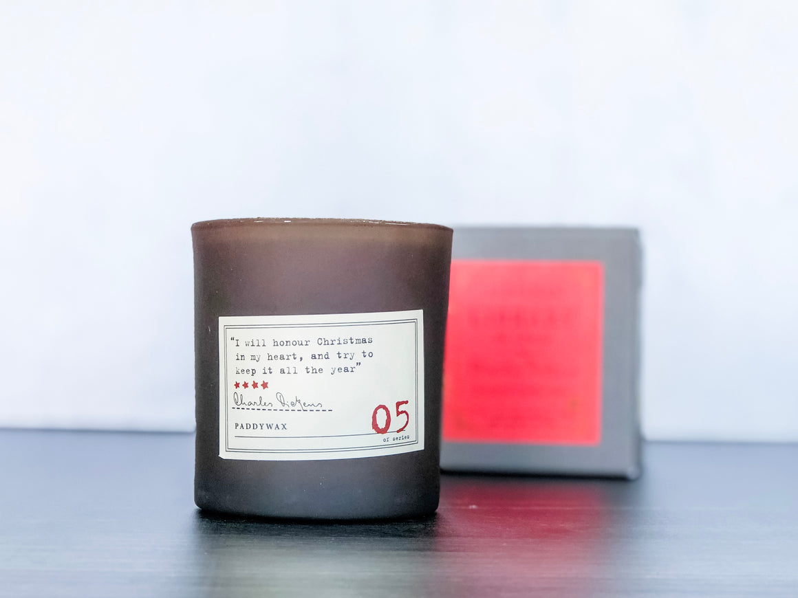 Dickens Candle