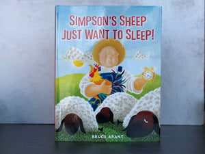 Simpson's Sheep Just Want to Sleep Children's Book