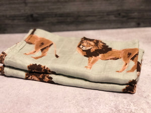 Lion Swaddle Blanket