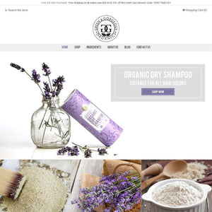 Green & Gorgeous Organics - Photography and Web Design - Los Angeles, US based Shopify Experts Revo Designs