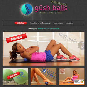 Gush Balls - Photography and Web Design - Los Angeles, US based Shopify Experts Revo Designs