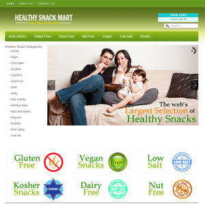 Healthy Snack Mart - Photography and Web Design - Los Angeles, US based Shopify Experts Revo Designs