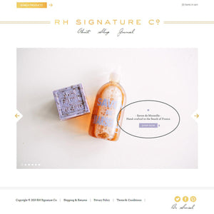 RH Signature - Photography and Web Design - Los Angeles, US based Shopify Experts Revo Designs