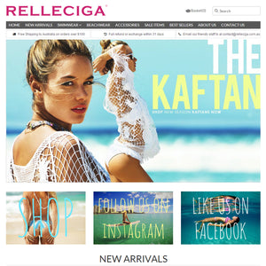 Relleciga Bikini - Photography and Web Design - Los Angeles, US based Shopify Experts Revo Designs