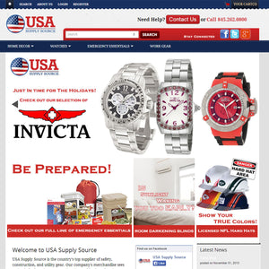 USA Supply Source - Photography and Web Design - Los Angeles, US based Shopify Experts Revo Designs