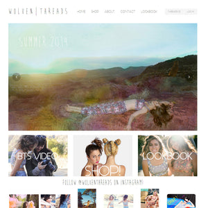 Wolven Threads - Photography and Web Design - Los Angeles, US based Shopify Experts Revo Designs