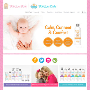 Bathtime Baby & Kids - Photography and Web Design - Los Angeles, US based Shopify Experts Revo Designs