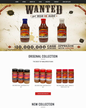 Bbq Bro Rubs - Photography and Web Design - Los Angeles, US based Shopify Experts Revo Designs