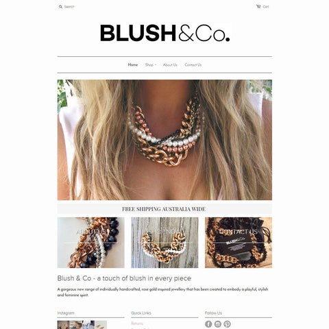 Blush & Co. - Revo Designs