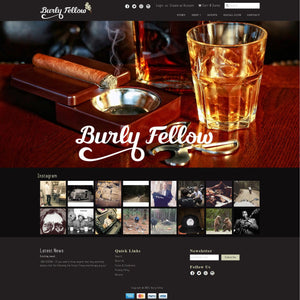 Burly Fellow - Photography and Web Design - Los Angeles, US based Shopify Experts Revo Designs