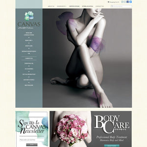 Canvas Beauty - Photography and Web Design - Los Angeles, US based Shopify Experts Revo Designs