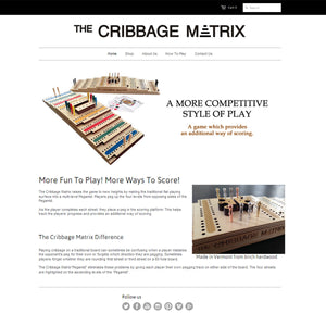 Cribbage Matrix - Photography and Web Design - Los Angeles, US based Shopify Experts Revo Designs