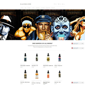 eJuices - Photography and Web Design - Los Angeles, US based Shopify Experts Revo Designs