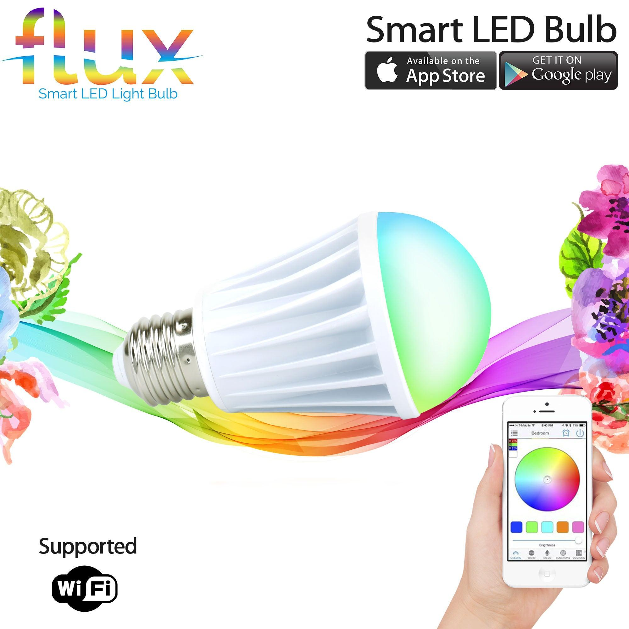 Color changing lightbulbs (4 styles) - Photography and Web Design - Los Angeles, US based Shopify Experts Revo Designs