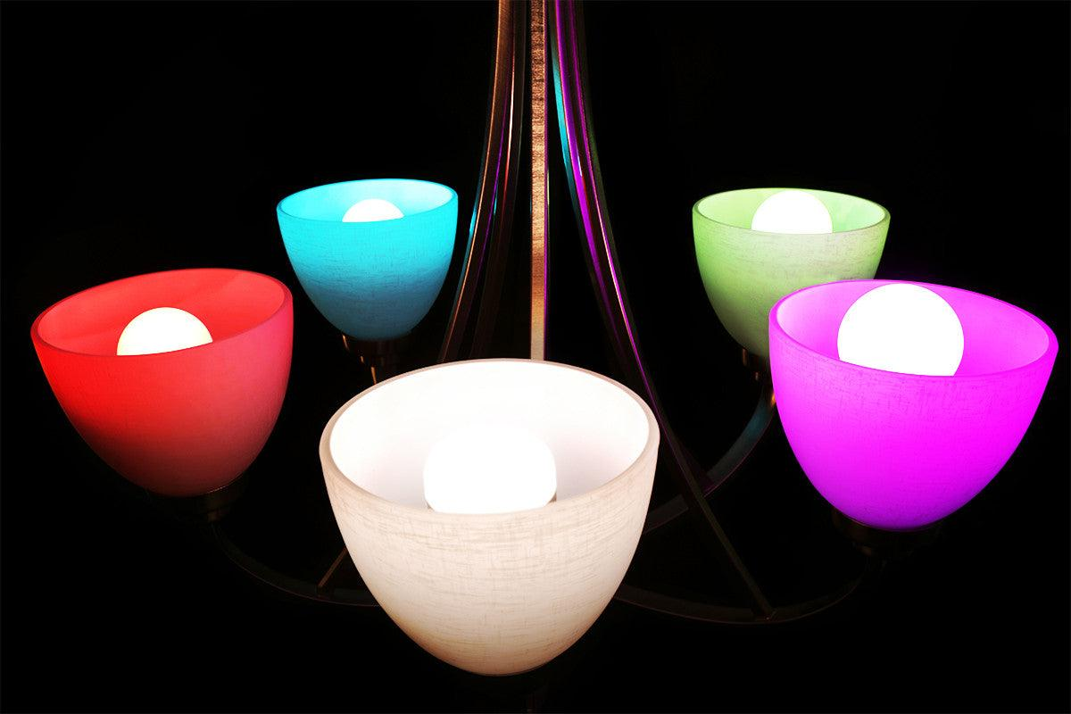 Color changing lightbulbs - Revo Designs - 3