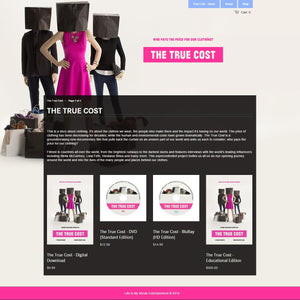 The True Cost - Photography and Web Design - Los Angeles, US based Shopify Experts Revo Designs