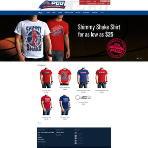 Point Guard University Apparel - Photography and Web Design - Los Angeles, US based Shopify Experts Revo Designs