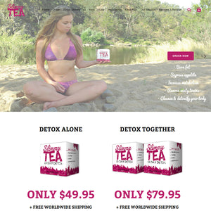 Slimmy Tea - Photography and Web Design - Los Angeles, US based Shopify Experts Revo Designs