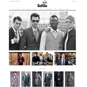 Suitfellas - Photography and Web Design - Los Angeles, US based Shopify Experts Revo Designs