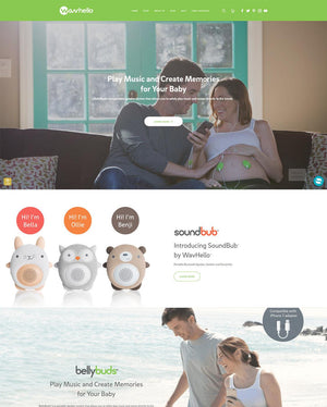 Wavhello - Photography and Web Design - Los Angeles, US based Shopify Experts Revo Designs