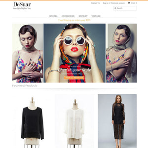 Desuar Boutique - Photography and Web Design - Los Angeles, US based Shopify Experts Revo Designs