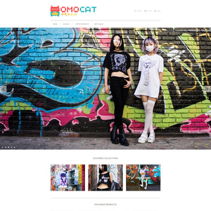 OMOCAT - Photography and Web Design - Los Angeles, US based Shopify Experts Revo Designs