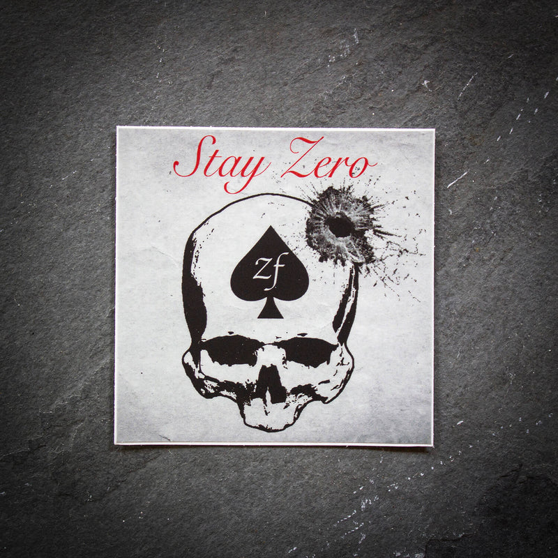 Stay Zero Sticker
