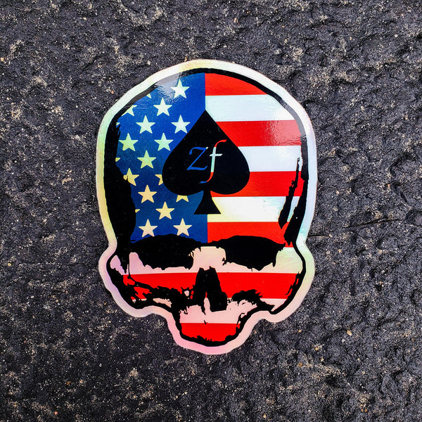 HOLO AMERICANA Sticker