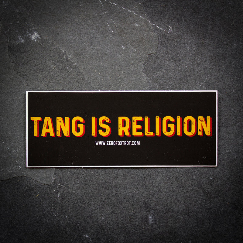 Tang is Religion Sticker
