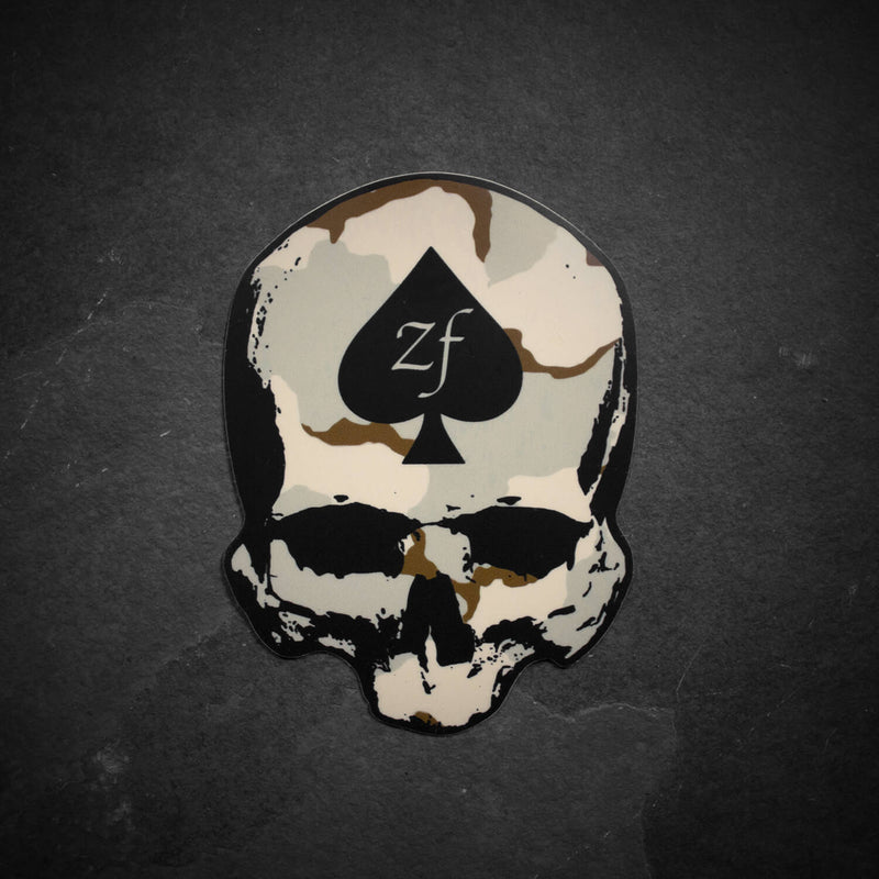 ZF DCU Sticker