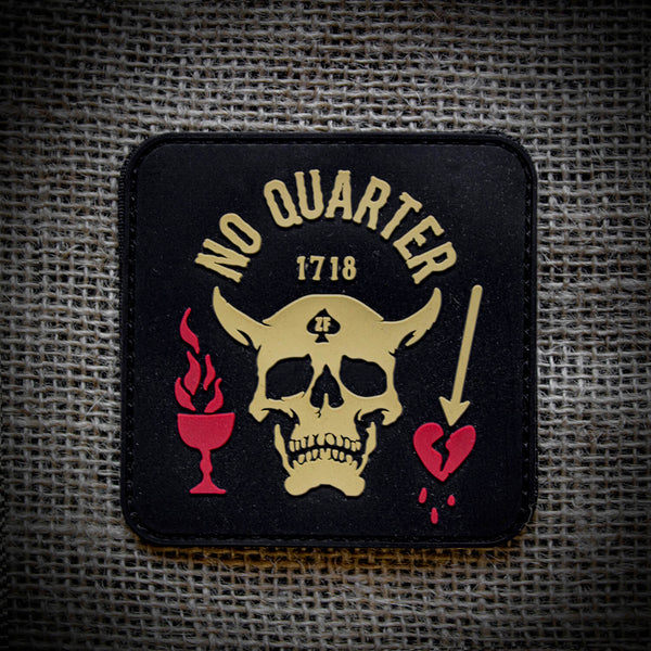 No Quarter PVC Patch