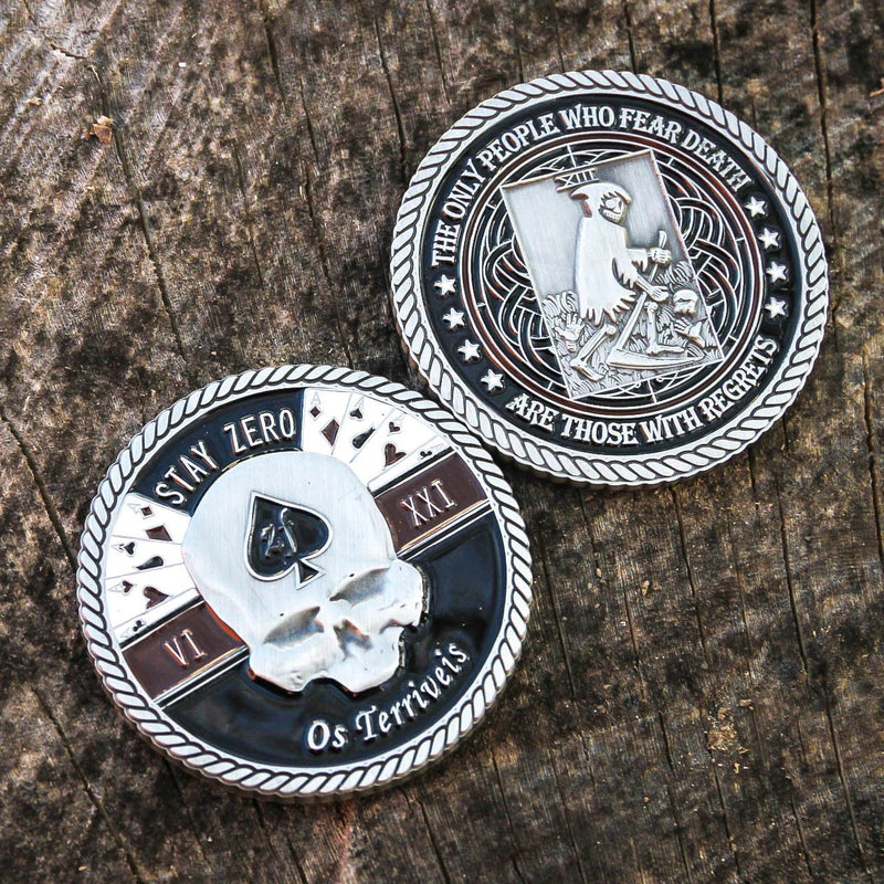 """Terrible Ones"" Challenge Coin"