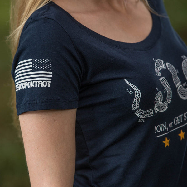 Apparel - Ladies Join Or Die (Navy)