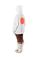 Badu in Japan Hoodie - White