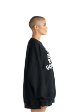 Hip Hop > Government Crewneck - Black & White