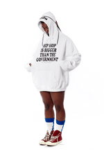 Hip Hop > Government Hoodie - White