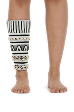 Moyo by Bibi - Maasai Beaded Ankle Cuffs (Long) - Pattern 4