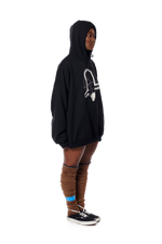 Ten Gallon Glow Hoodie - Black